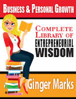 Ginger marks book