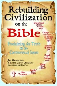Rebuilding Civilization on the Bible cover