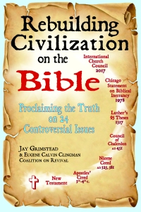Rebuilding Civilization on the Bible cover